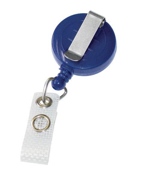 Jojo-Ausweishalter mit Clip, farbig - Gebäudesicherheit