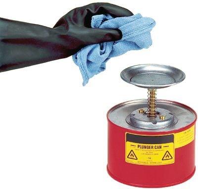 Justrite® Sparanfeuchter aus Stahl - Laborflaschen und -zubehör