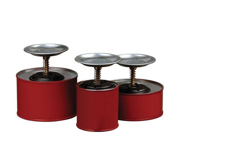 Justrite® Sparanfeuchter aus Stahl