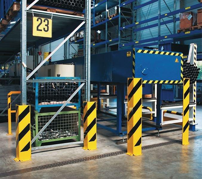 Schrauben und Dübel für Stahl-Anfahrschutzprofile