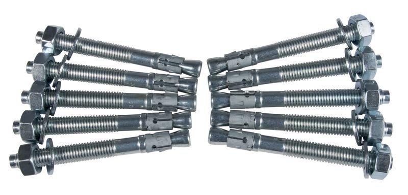 Dübel und Schrauben für Teleskop-Rammschutz