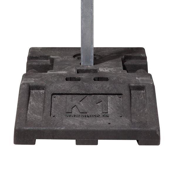 Fußplatte für Sicherheitsbaken