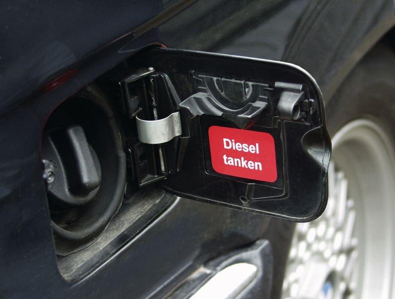 Ölwechsel durchgeführt – Aufkleber zur Fahrzeugkennzeichnung - Fahrzeugmarkierung
