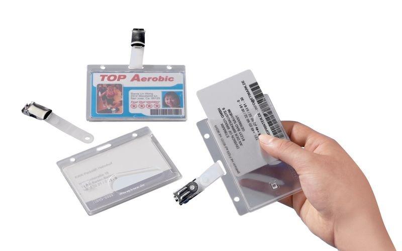 Ausweis-/Kartenschoner, formstabil, transparent - Ausweise und Zubehör