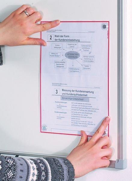Schutzfolien mit Magneten - Sichthüllen und Präsentationstaschen