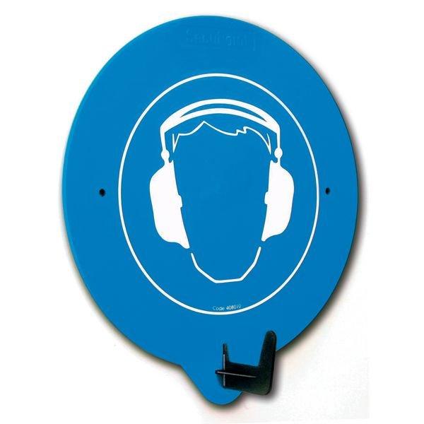 Gehörschutz benutzen - PSA-Haken