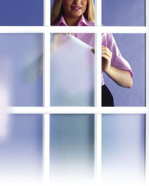 Sichtschutzfolien mit Milchglaseffekt