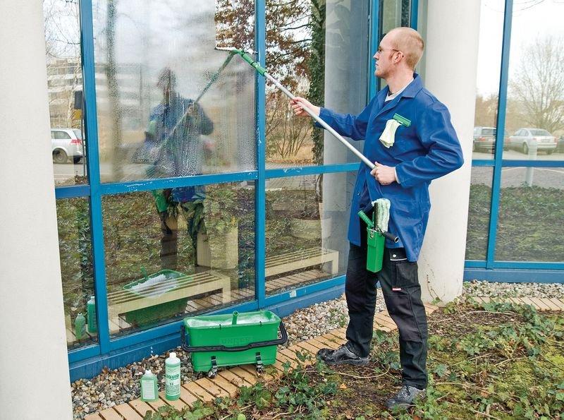Fenster-Reinigungs-Set – Ausstattung zur Fensterreinigung - Reinigungsutensilien