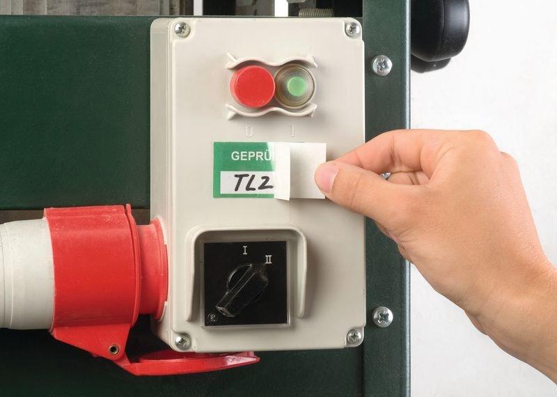 Geprüft - Etiketten zur Qualitätssicherung, mit Schutzlaminat, auf Rolle - Qualitätsaufkleber und farbige Klebeetiketten
