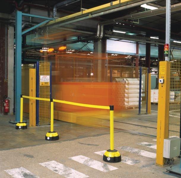 Gurtverbinder - Kugelfuß Absperrsysteme/Leitsysteme, Aluminium/Kunststoff