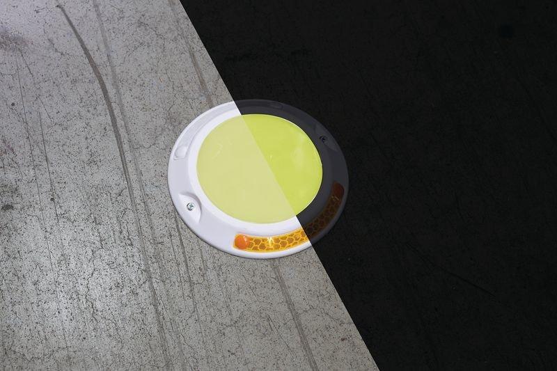 Everglow® Bodennagel Ronde Lumipro - Fluchtwegkennzeichnung, bodennah, langnachleuchtend