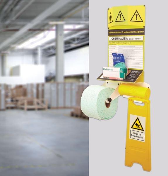 Abfallbeutel für Gefahrstoffunfälle und Leckagen
