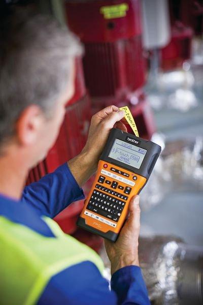 Brother Industrie Beschriftungsgeräte PT-E550WVP - Thermodrucker und Thermotransferdrucker