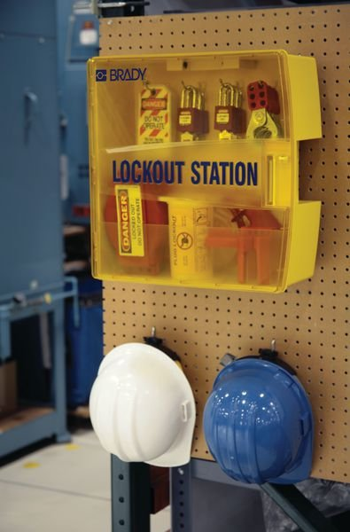 Lockout-Stationen, tragbar - Lockout-Tagout-Systeme
