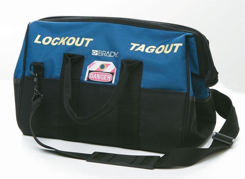 BRADY Lockout-Umhängetaschen, blau