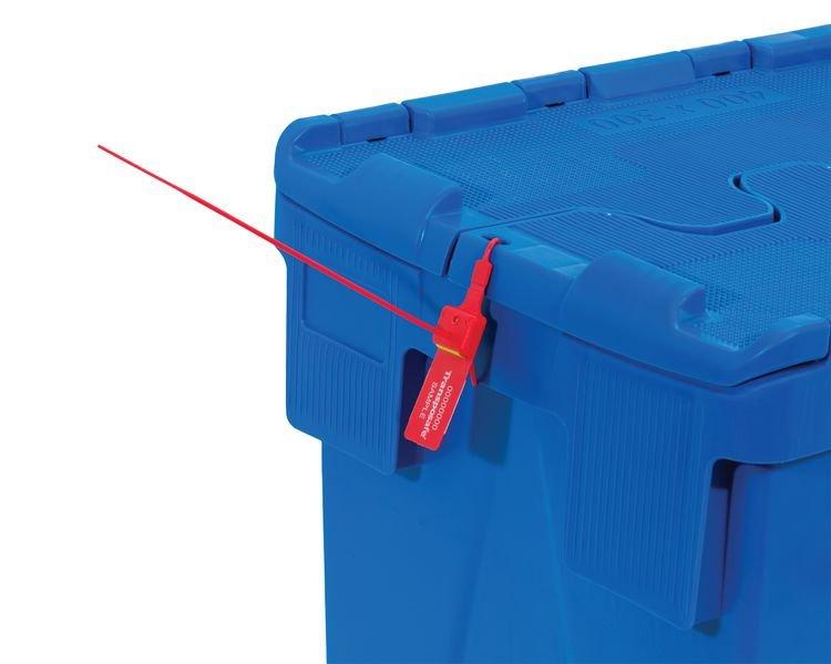 Sicherheitsplomben, Kunststoffplomben TEN LOK, individuell - Verpackung und Transport