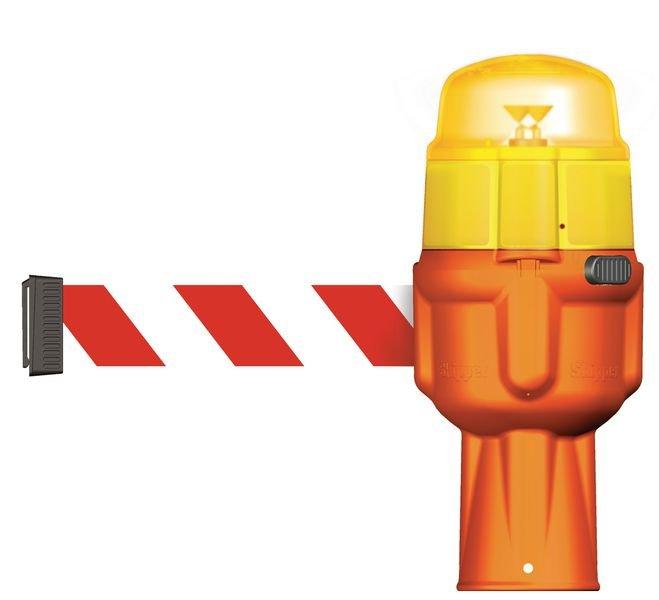 Warnlicht für Skipper™ Absperrsysteme, wiederaufladbar