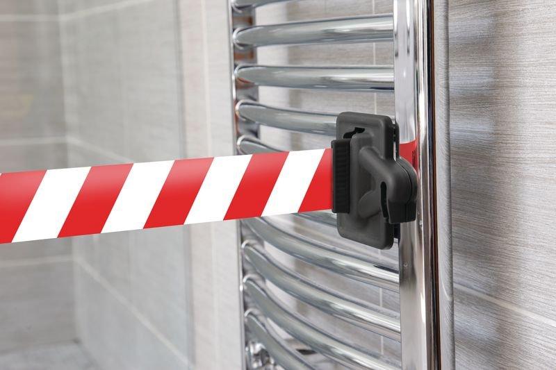 Skipper™ Cliphalterung, Magnet/ Kordel - Absperrungen und Sicherheits-Aufsteller