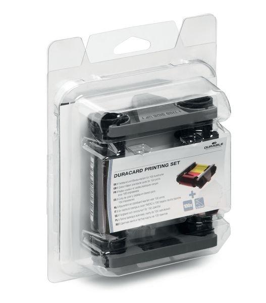 Nachfüll-Set für DURABLE DURACARD ID 300 Kartendrucker