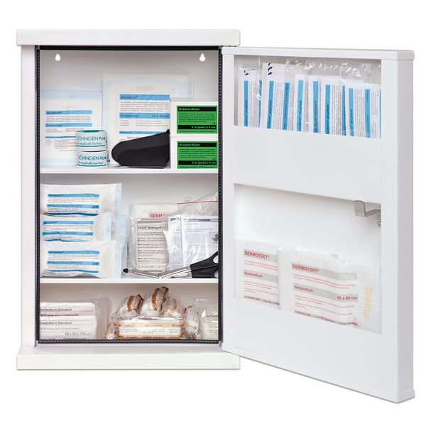 SÖHNGEN Erste-Hilfe-Schrank, elektrostatisch, ÖNORM Z1020 Typ 2
