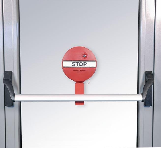 Türwächter mit Alarm für Notausgangstüren, mit Stangengriff - Brandschutz