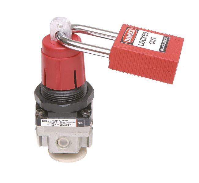 BRADY Verriegelung für SMC-Leitungsregler, mini