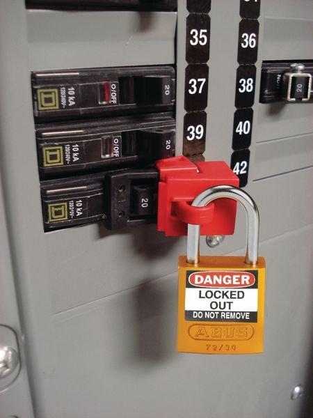 Lockout-Etiketten für Stahlvorhängeschlösser - Wartungsanhänger und Lockout-Etiketten