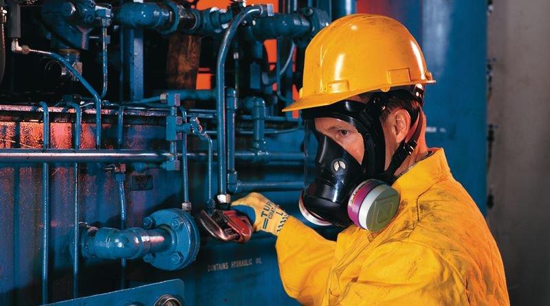Honeywell Doppelfilter-Vollmasken, mit Einrastfunktion, EN 136 - Atemschutzmasken