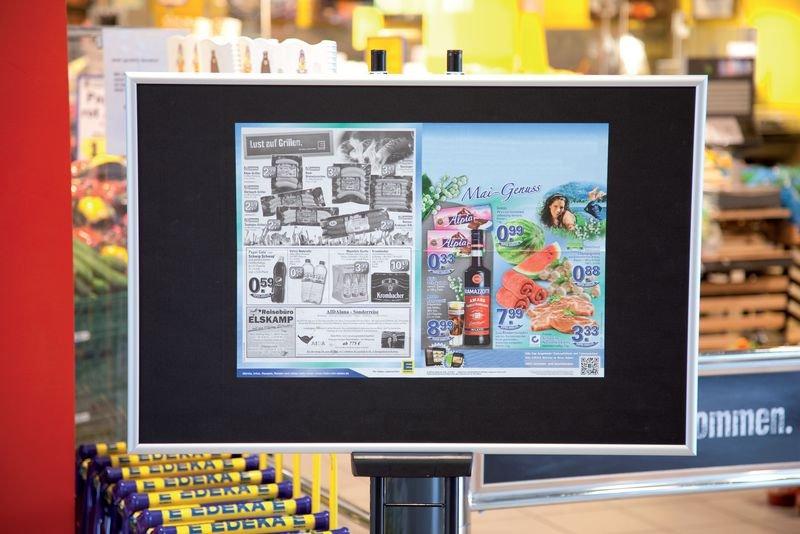 Aufhänge-Pinnwand - Flipcharts und Wandtafeln