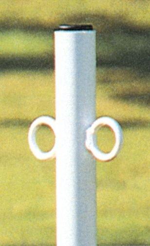 Einschlagpfosten aus Stahl - Absperrpfosten und Absperrketten