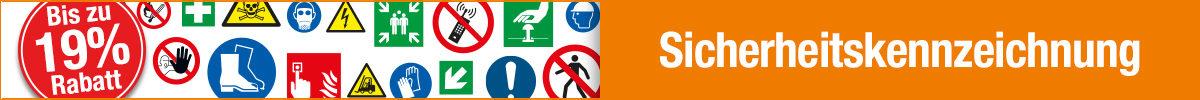 Schilder ÖNORM EN ISO 7010 - neue Symbole zur Sicherheitskennzeichnung