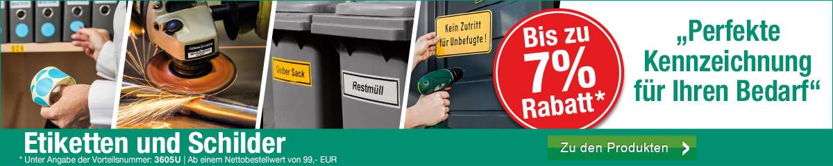 Etiketten & Schilder - Perfekte Kennzeichnung für Ihren Bedarf!