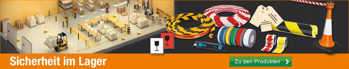 Sicherheit im Lager - Produkte für Ihre Sicherheit