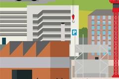 Anwendung Skipper™ Parkhaus Parkplätze