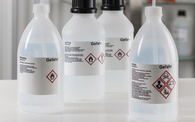 Gefahrstoffkennzeichnung gemäß GHS-/CLP-Verordnung