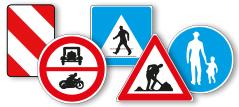 Verkehrsschilder Österreich