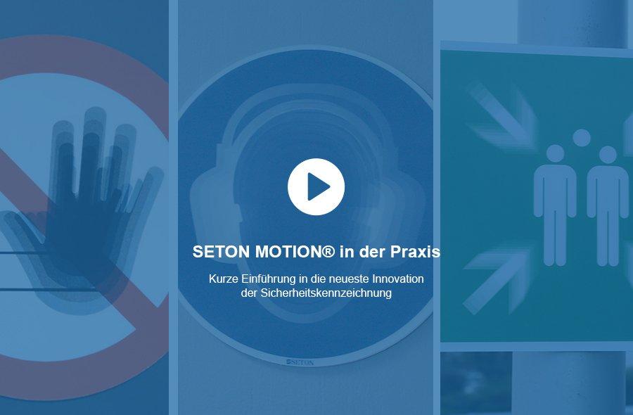 SETON MOTION® Schilder - Kurze Einführung