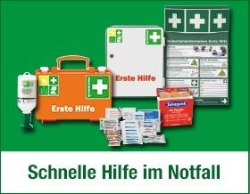 Erste-Hilfe-Produkte - Schnelle Hilfe im Notfall