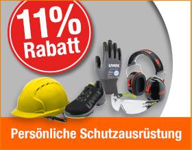 Ohne Gutscheincode 11 % Rabatt auf Persönliche Schutzausrüstung