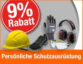 Ohne Gutscheincode 9% Rabatt auf Persönliche Schutzausrüstung