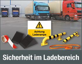 Lösungen für mehr Sicherheit im Lade- und Lagerbereich. Jetzt Produkte entdecken!
