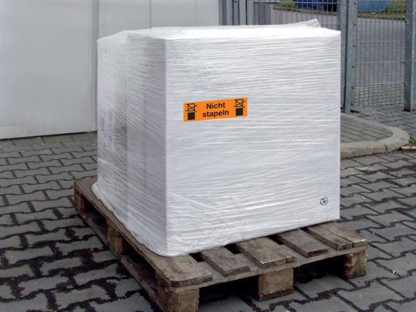 """""""Keine Gabelstapler""""- Etiketten-zur-Palettenkennzeichnung"""