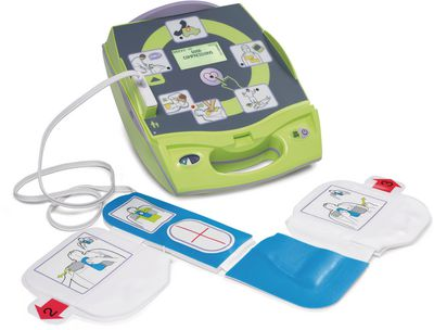 Defibrillator ZOLL AED Plus mit Display