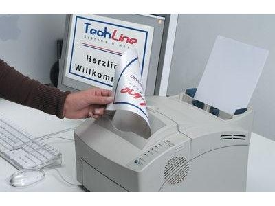 Druckeretiketten aus Polyester speziell fuer Fablaserdrucker