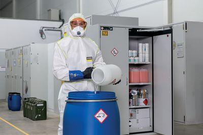 Einweg Chemieschutzanzug CE Kategorie III