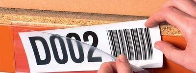 Etikettenhalter zur Regalbeschriftung
