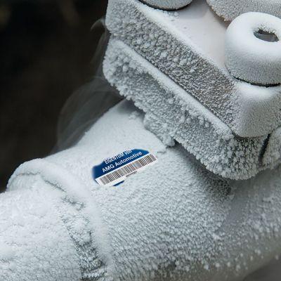Beispiel: Inventarisierung Kälteumgebungen - SetonGuard® Inventaretiketten