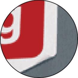 QS-Aufkleber aus Vinylfolie