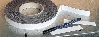 Magnetetiketten auf Rolle zur Lagerkennzeichnung