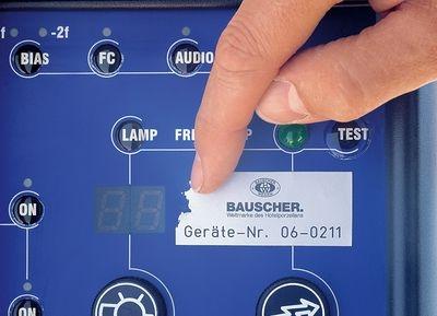 Lasergravierte Etiketten - SetonGrip Laser, individuell, aus Acrylat